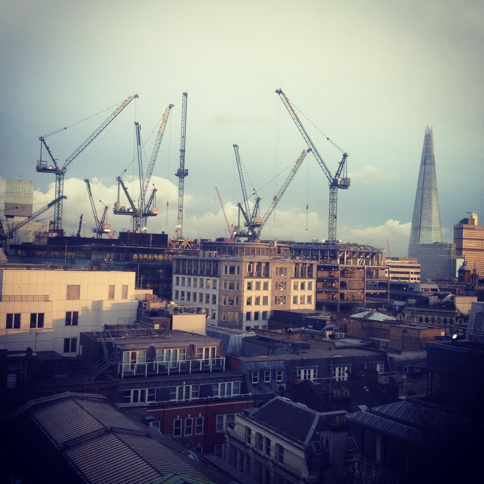 London Skyline City Skyscrapers Buildings