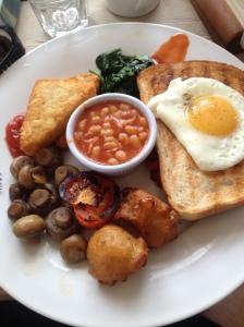 full veggie breakfast traigo lounge southampton