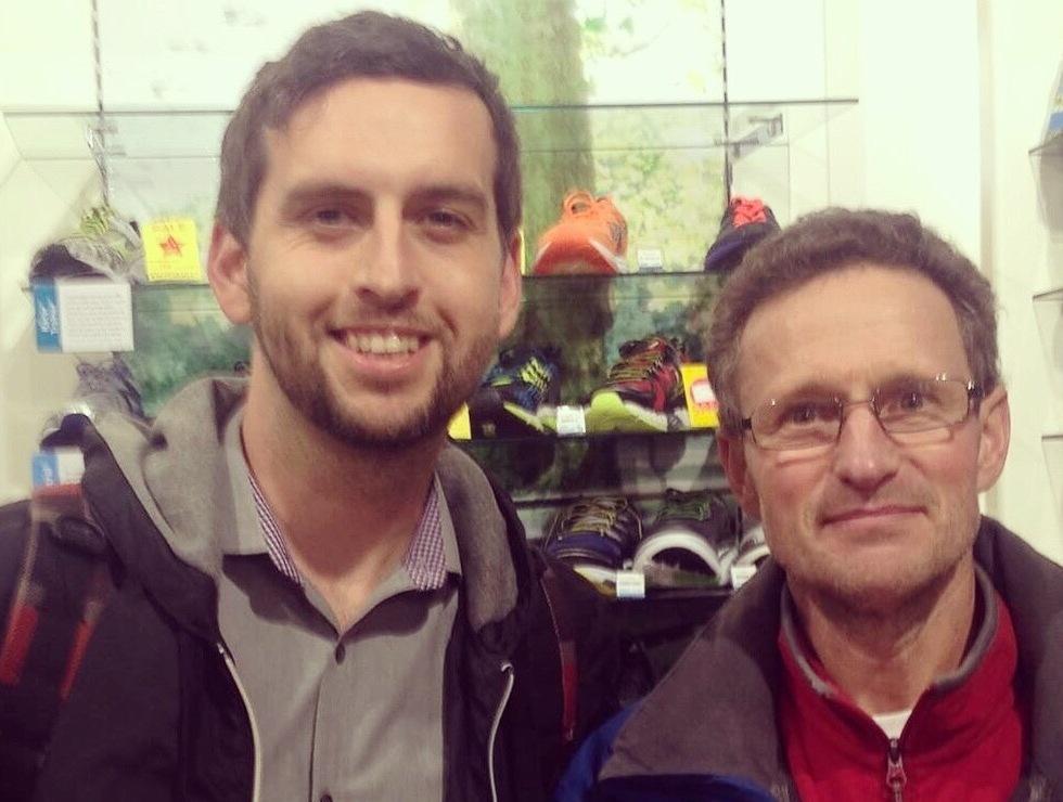 Sam Wilkes William Sichel RUn and Become 2015 Ultrarunning