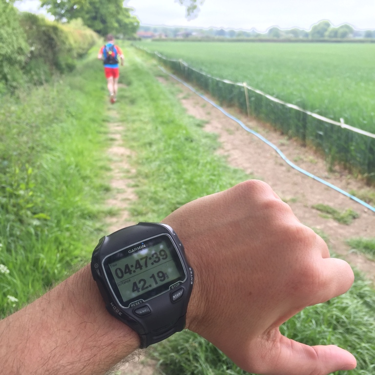 Ultramarathon Garmin 910XT