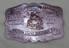 Western States-Winner-Buckle