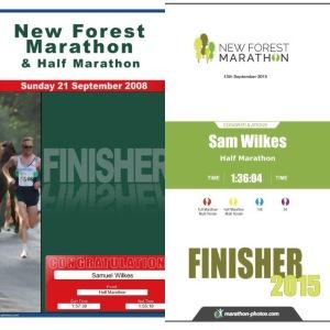 New Forest Half Marathon 2015