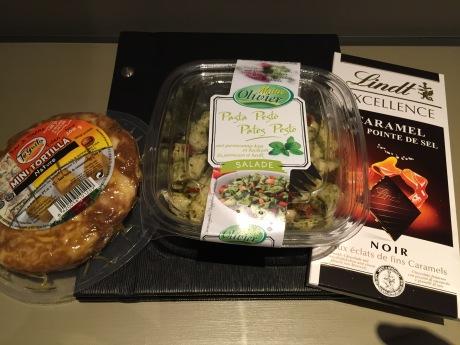 Paris Marathon 2016 Food