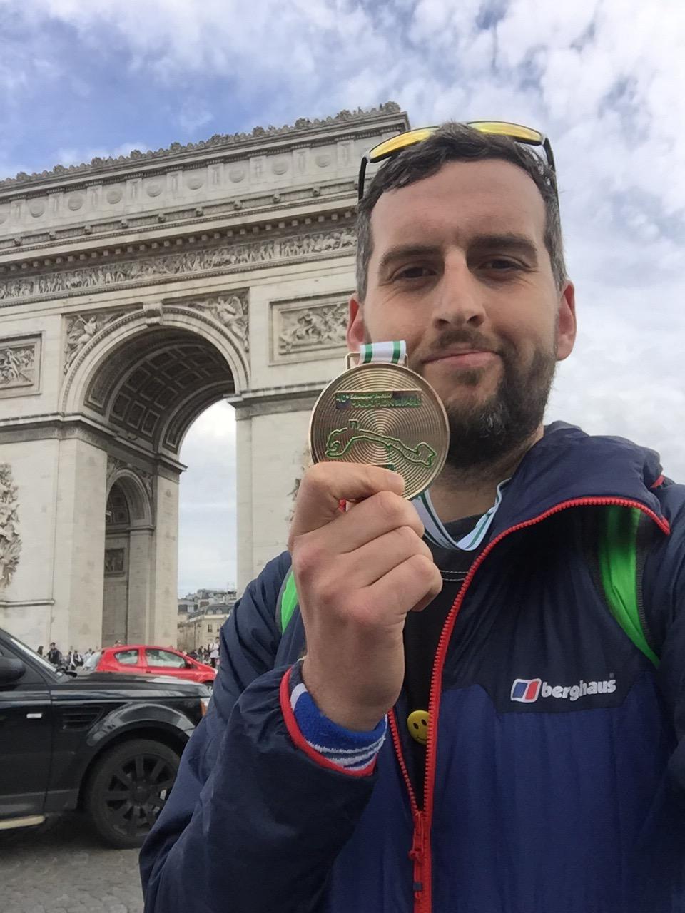 Paris Marathon 2016 Medal