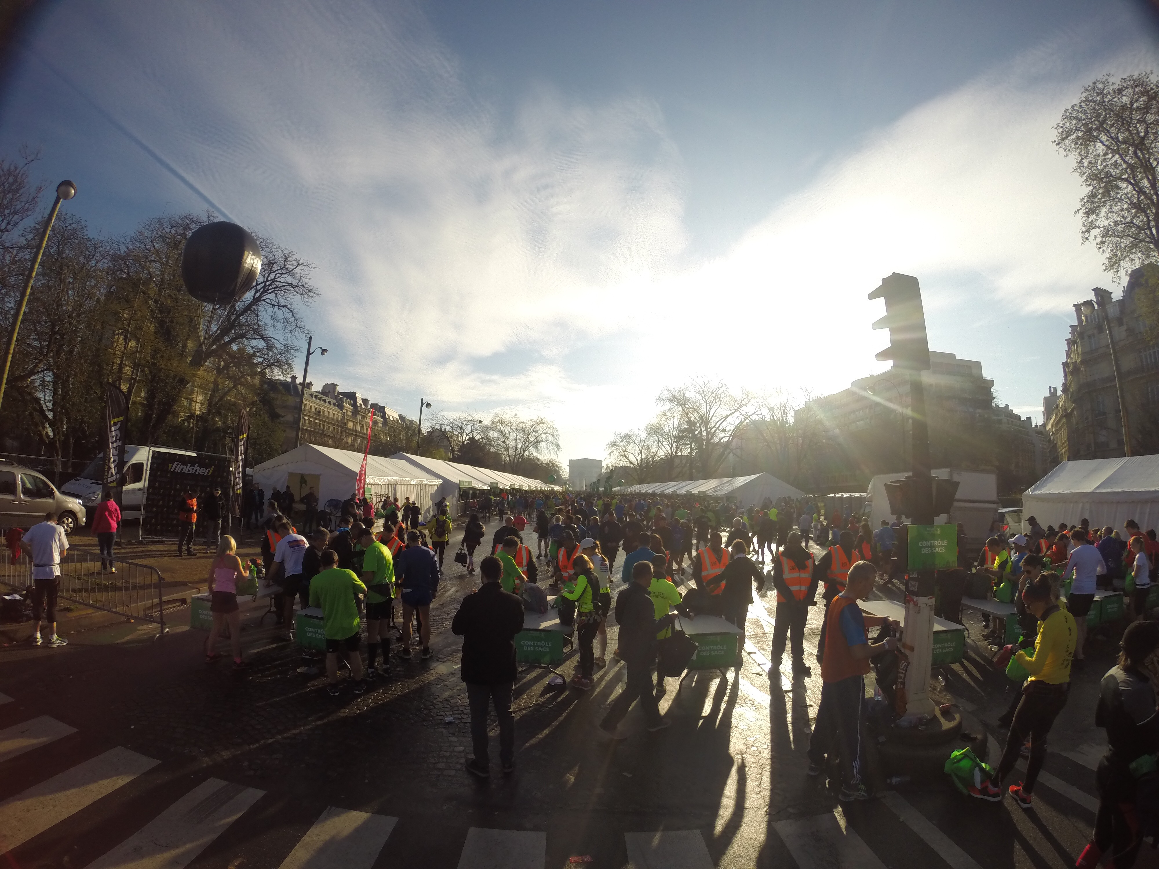 Paris Marathon 2016 Champs Elysee