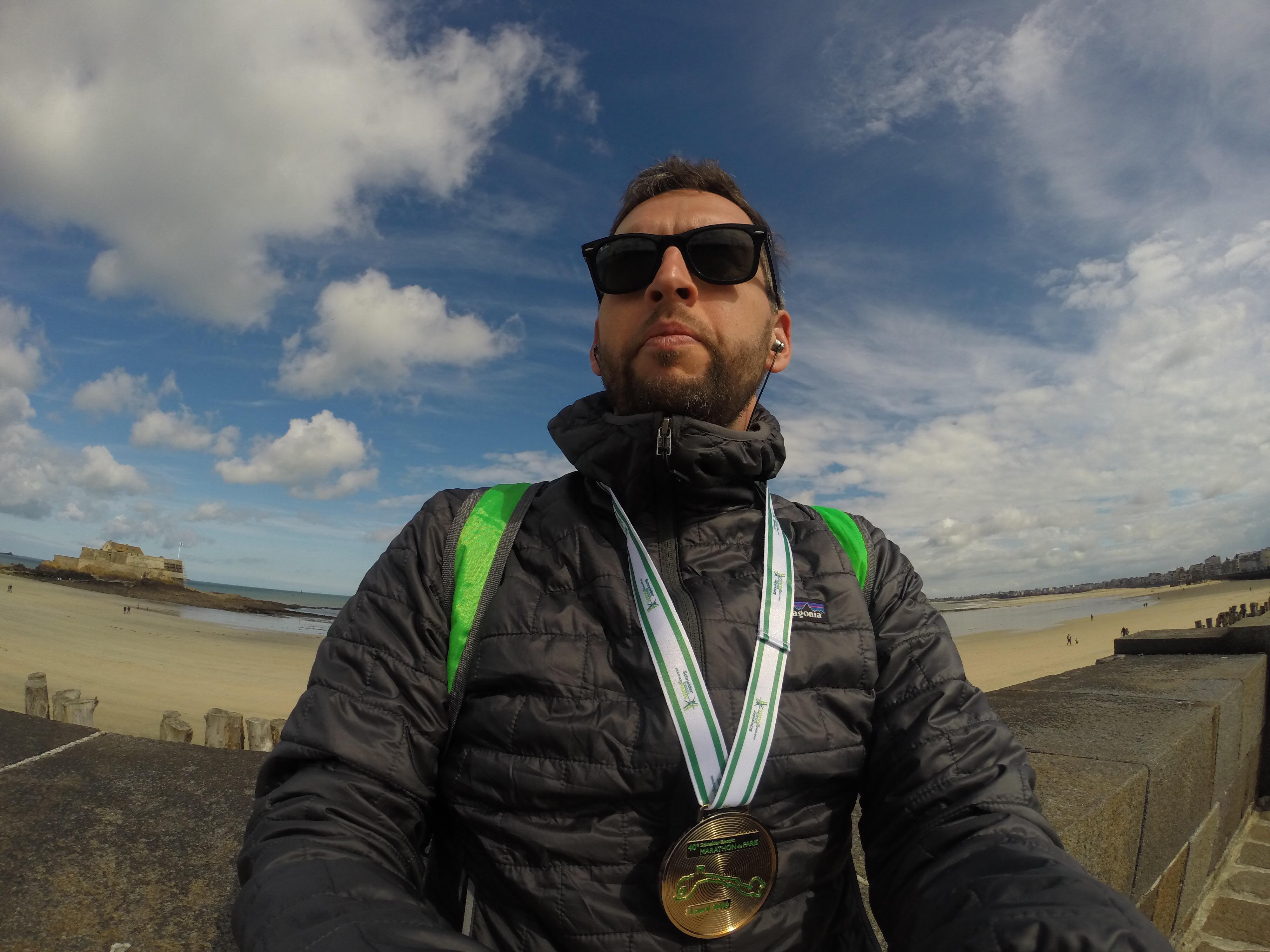 Paris Marathon 2016 St Malo GoPro