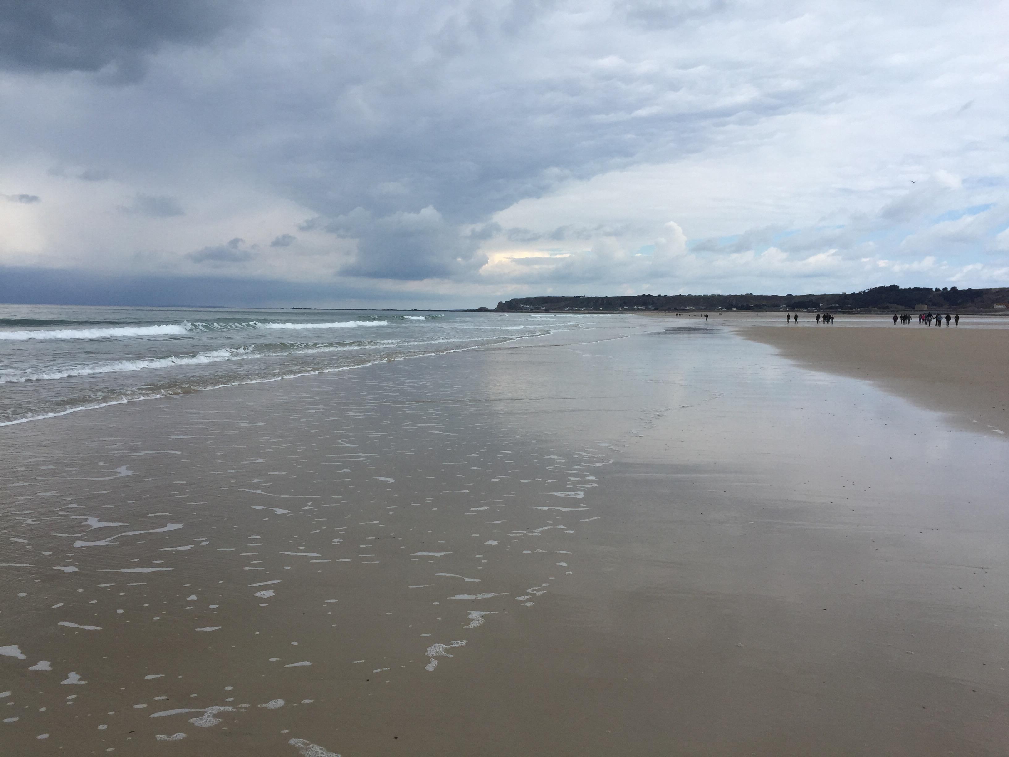 St. Ouens beach Autism Jersey