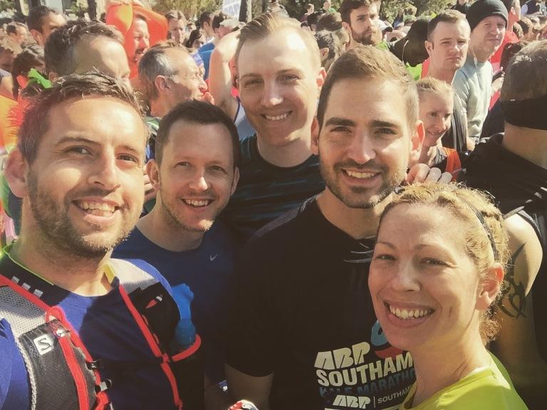 ABP Southampton Half Marathon Selfie