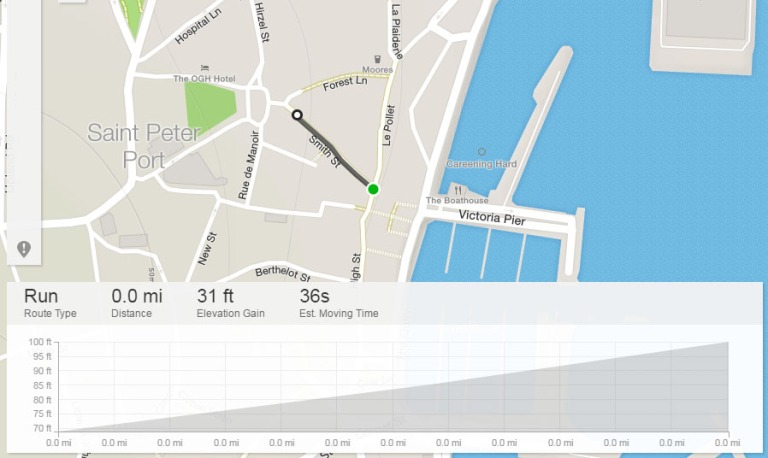 Smith Street Guernsey Strava