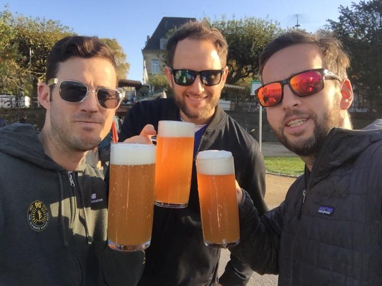 Frankfurt Marathon 2016 beer