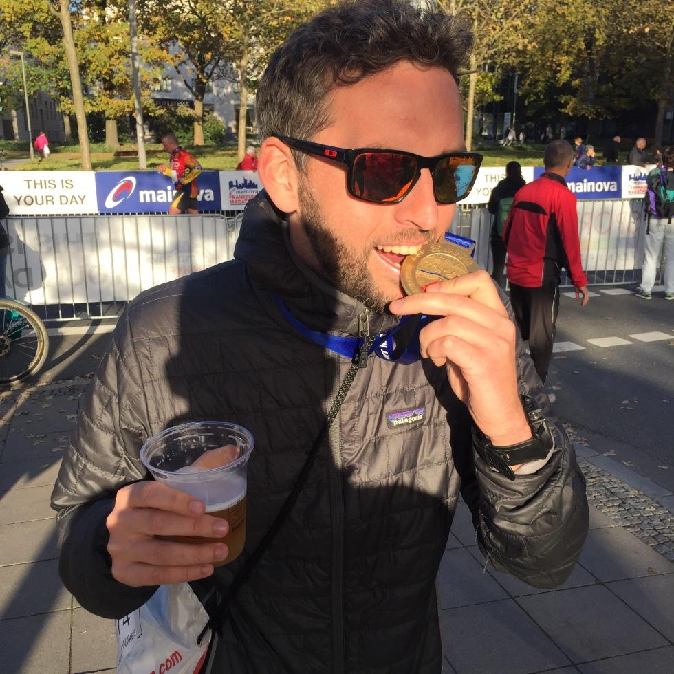 Frankfurt marathon medal