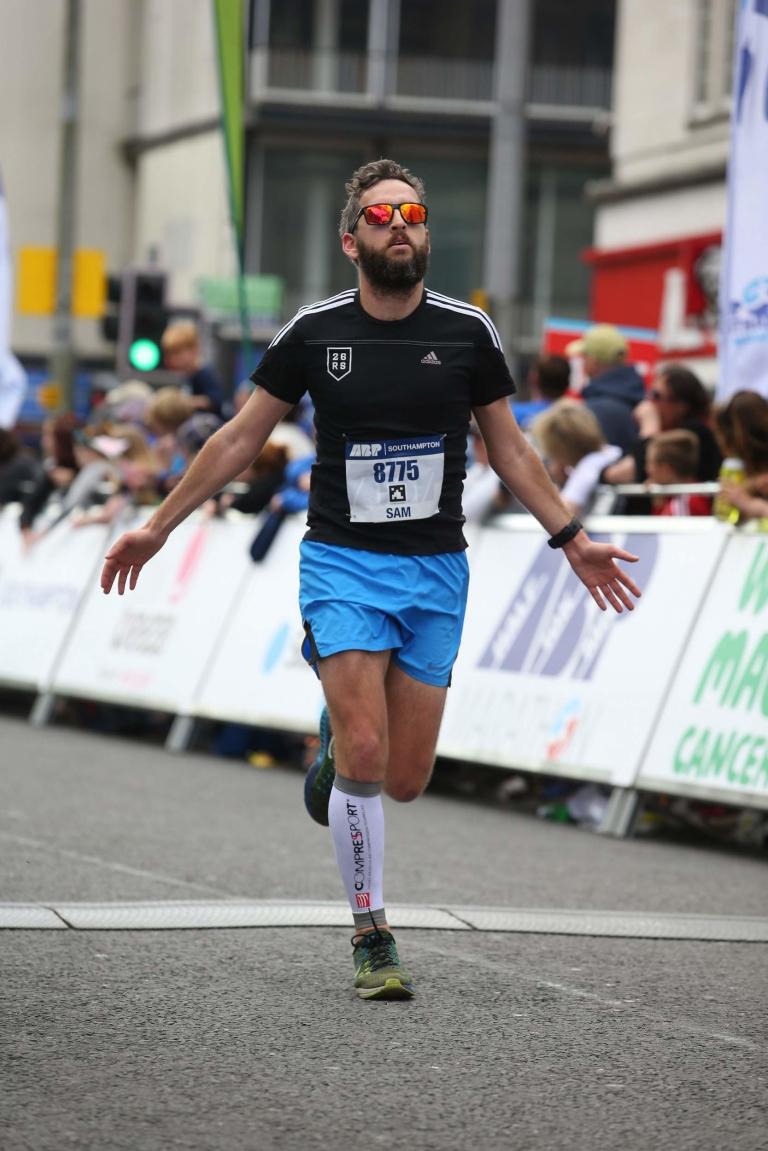 ABP Southampton Marathon finish