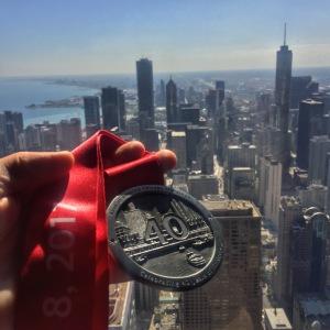 Chicago Marathon medal