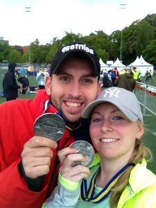 Stockholm marathon medal
