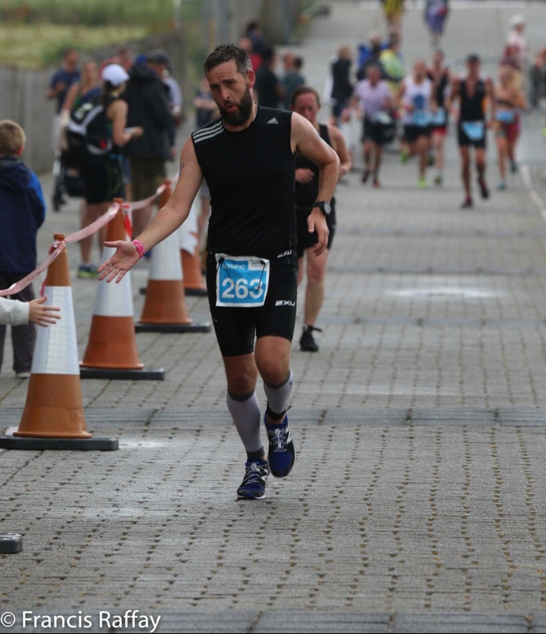 Jersey Triathlon 2018 run