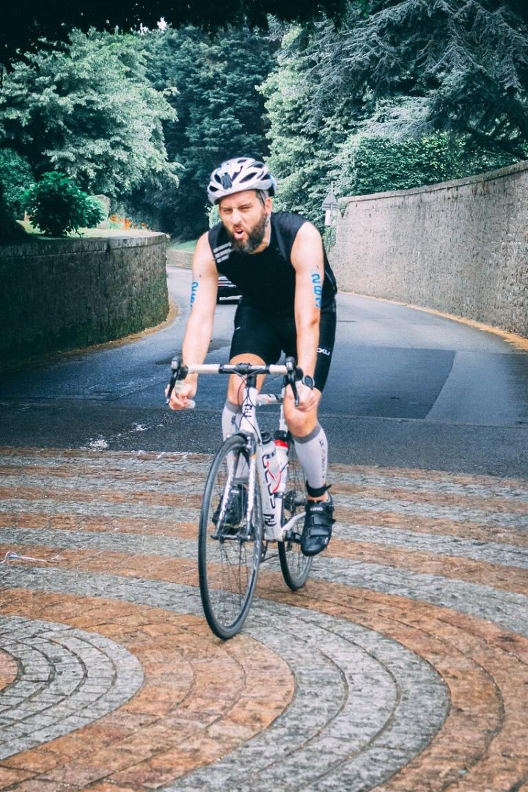 Jersey Triathlon 2018 bike