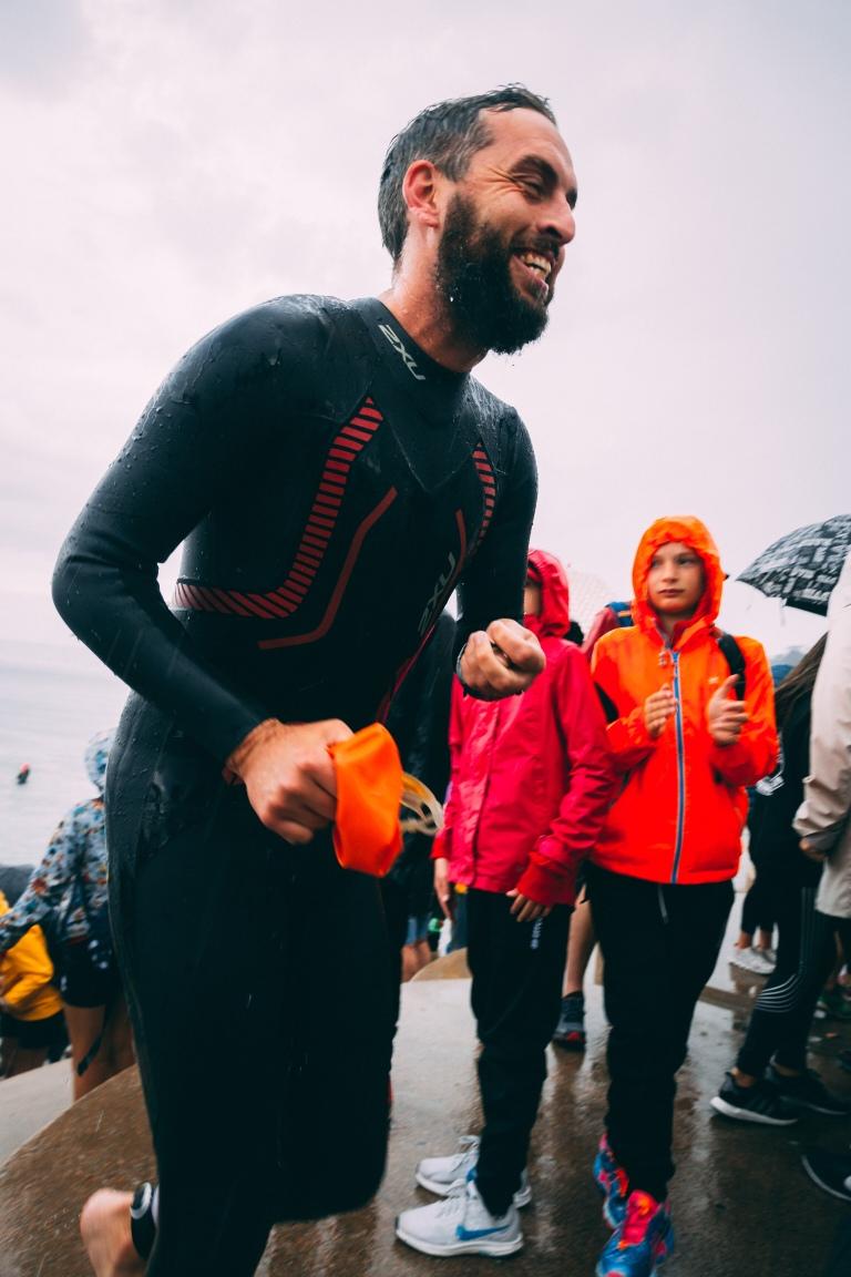 Jersey Triathlon 2018 swim 2XU SamStaggersOn