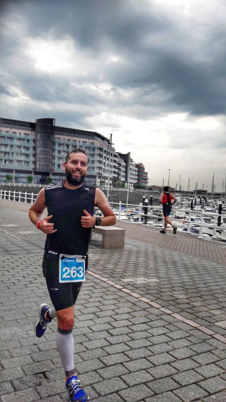 Jersey Triathlon 2018 run