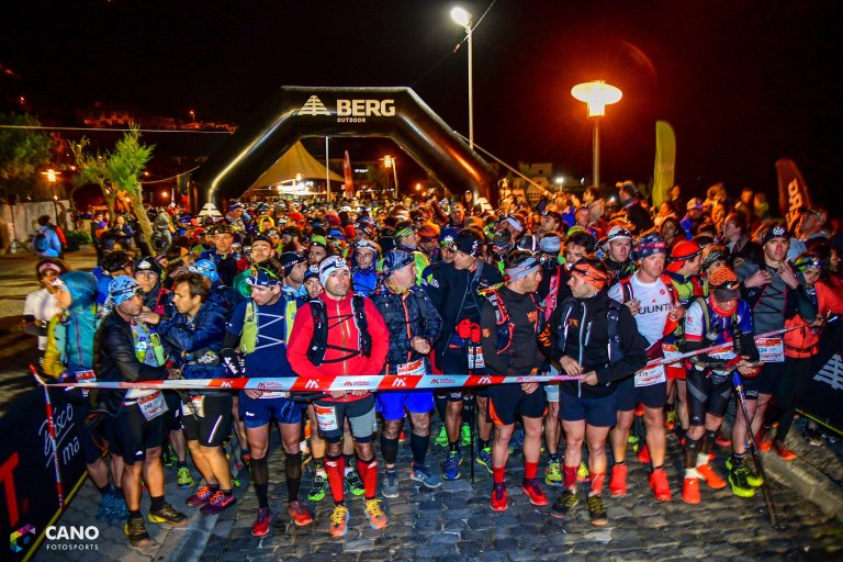 Madeira Island Ultra Trail start line MIUT